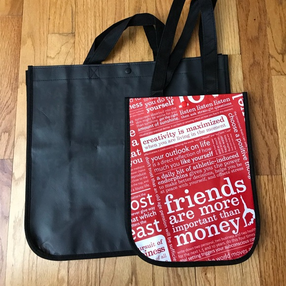 55e5e17cdf8f Lululemon shopping bag 1 large and 1 small. LULULEMON SMALL TOTE BAG. The  too-tiny-for-me DTDB Duffle is calling my name. It s just so cute. It  doesn t look ...